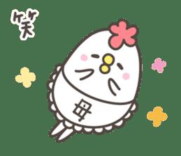 MAMA's basic pack,cute chicken sticker #13149126