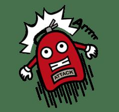 fuoco fire extinguisher sticker #13153697