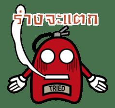fuoco fire extinguisher sticker #13153700