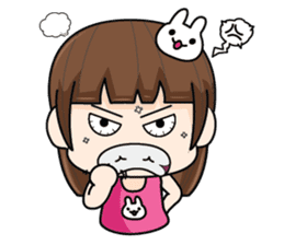Wife Angry + sticker #13160058