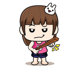 Wife Angry + sticker #13160059