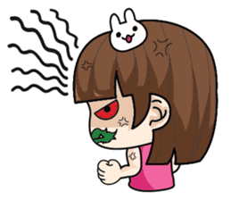 Wife Angry + sticker #13160065