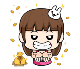 Wife Angry + sticker #13160070