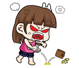 Wife Angry + sticker #13160071