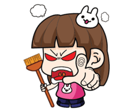 Wife Angry + sticker #13160072