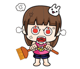 Wife Angry + sticker #13160073