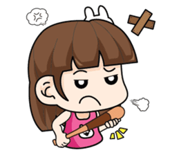 Wife Angry + sticker #13160074