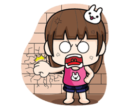 Wife Angry + sticker #13160080