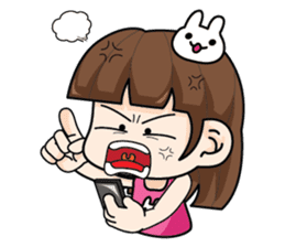Wife Angry + sticker #13160086