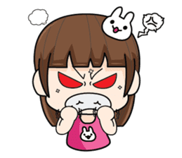 Wife Angry + sticker #13160089