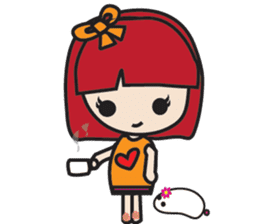 LucyChan and Momo sticker #13163915