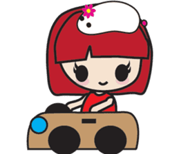 LucyChan and Momo sticker #13163916