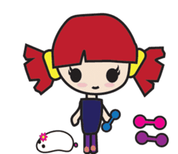 LucyChan and Momo sticker #13163917