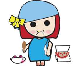 LucyChan and Momo sticker #13163919