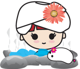 LucyChan and Momo sticker #13163921