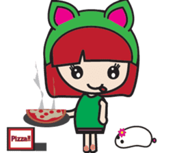 LucyChan and Momo sticker #13163926
