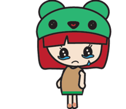 LucyChan and Momo sticker #13163928