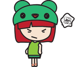 LucyChan and Momo sticker #13163929