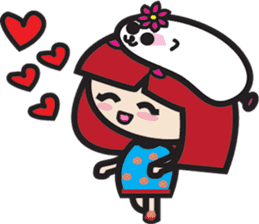 LucyChan and Momo sticker #13163930