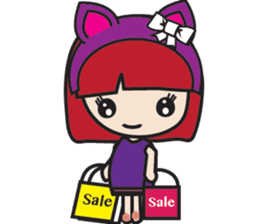 LucyChan and Momo sticker #13163931