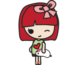 LucyChan and Momo sticker #13163936