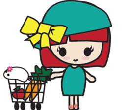 LucyChan and Momo sticker #13163937