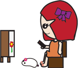 LucyChan and Momo sticker #13163939
