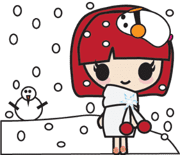 LucyChan and Momo sticker #13163948