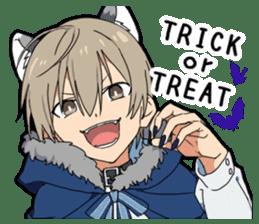 Halloween costume boy sticker #13166310