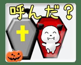 Animated Halloween sticker #13166385