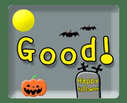 Animated Halloween sticker #13166386