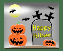 Animated Halloween sticker #13166395