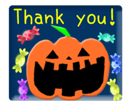 Animated Halloween sticker #13166396