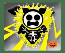Animated Halloween sticker #13166398