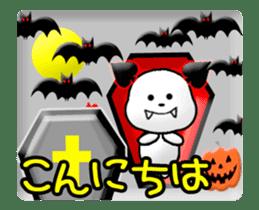 Animated Halloween sticker #13166400