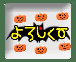 Animated Halloween sticker #13166401