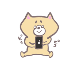 Like a dog Sticker sticker #13167087