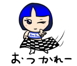 Okappa girl Kato ver.cosplay sticker #13169892