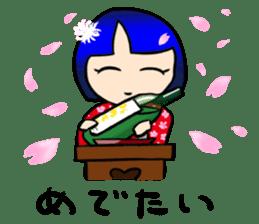 Okappa girl Kato ver.cosplay sticker #13169895
