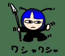 Okappa girl Kato ver.cosplay sticker #13169898