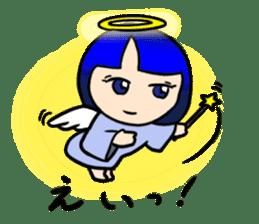 Okappa girl Kato ver.cosplay sticker #13169899