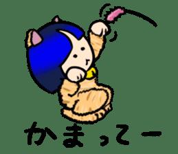 Okappa girl Kato ver.cosplay sticker #13169905
