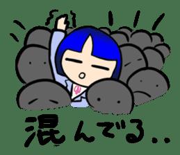 Okappa girl Kato ver.cosplay sticker #13169917
