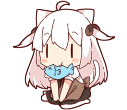 Tamako's Sticker2 sticker #13177228