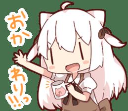 Tamako's Sticker2 sticker #13177229