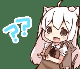 Tamako's Sticker2 sticker #13177233