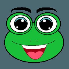 Frog Face : Muka Kodok