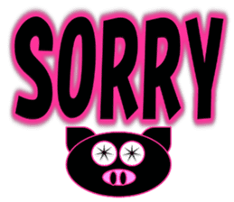 Black Pig(Kurobutataro)2 sticker #13177477