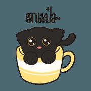 สติ๊กเกอร์ไลน์ NILNIL CAT