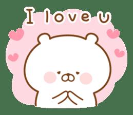Kumaman english sticker #13185811